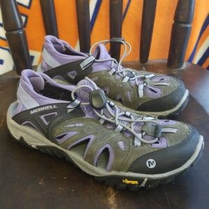 Merrell All Out Blaze Sieve shoes sandals 8.5